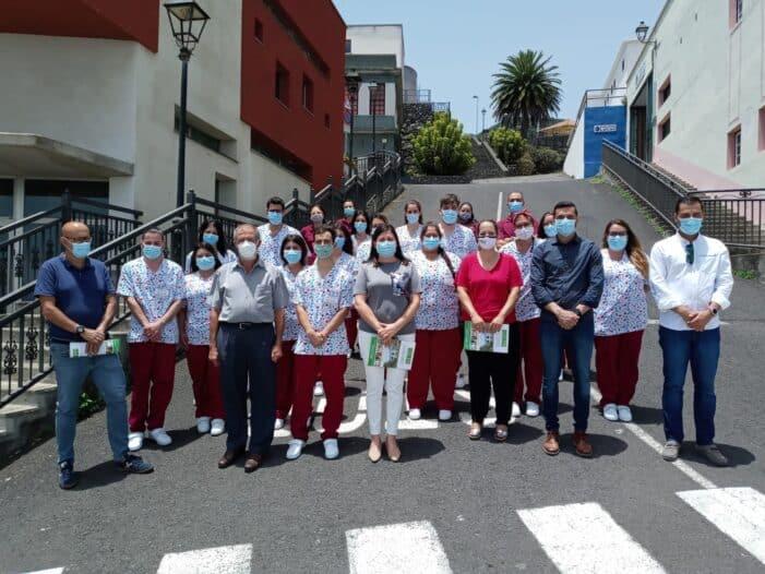"""15 jóvenes de la Villa de Mazo, se forman en atención sociosanitaria en el PFAE de Garantía Juvenil """"Villa de Mazo, calidad sociosanitaria"""""""