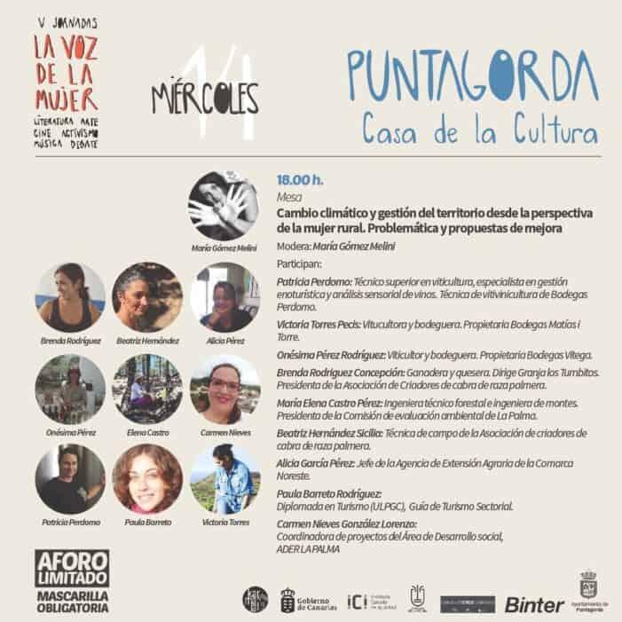 La Voz de la Mujer se desplaza a la comarca oeste de La Palma