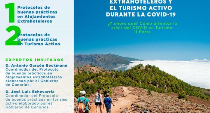 Protocolos de buenas prácticas para los Alojamientos Extrahoteleros y el Turismo Activo durante la COVID-19