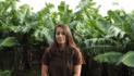 Mónica Barreto ha apostado por el cultivo ecológico de plátanos