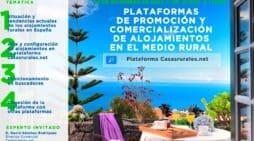 Curso sobre Plataformas de promoción y comercialización de alojamientos en el medio rural: Plataforma casasrurales.net.
