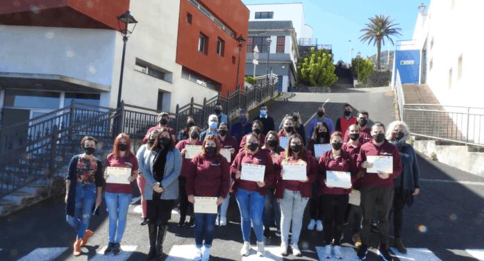 Finaliza el PFAE de Garantía Juvenil de Atención Sociosanitaria de Villa de Mazo